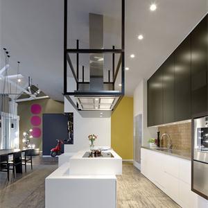 105平現代風格廚房裝修效果圖