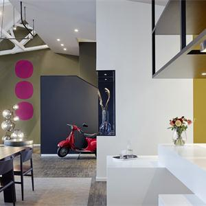 现代风格三居室卫生间装修效果图