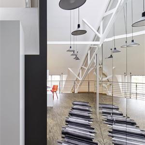 150㎡极简风格走廊装修效果图