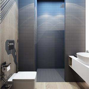 大户型现代简约卫生间装修效果图