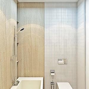 大户型法式白色简约卫生间装修设计图