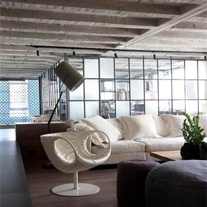 混搭风格公寓客厅装修效果图