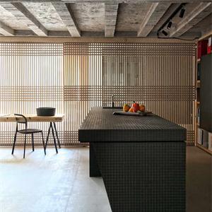 北歐簡美混搭餐廳裝修效果圖
