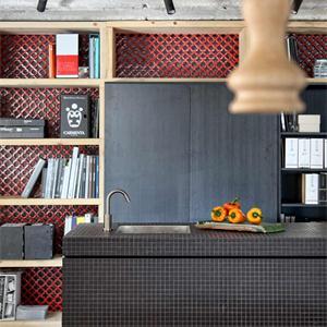 現代簡約風格書房裝修效果圖