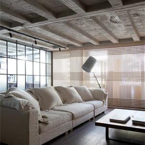 三居室現代簡約客廳裝修設計圖