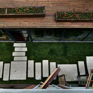 别墅美式风格小花园装修效果图