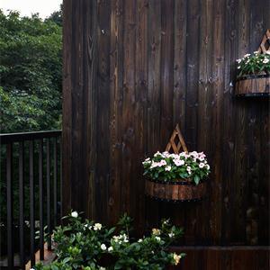 法式民宿户外花园绿化设计