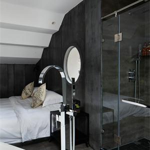 150㎡極簡風格臥室裝修效果圖