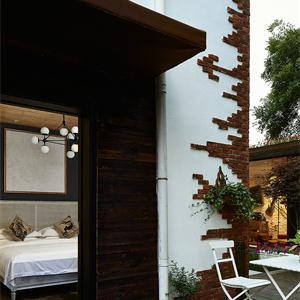 130㎡欧式风格客户外阳台花园装修效果图