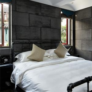 現代美式風格臥室裝修效果圖
