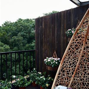 美式风格别墅阳台装修效果图