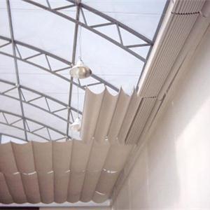 天棚帘安装:用PCS天棚帘的安装来举例