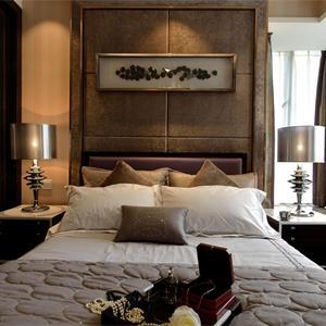 极简现代风格卧室装修效果图