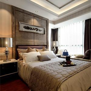 95平現代簡約臥室裝修效果圖