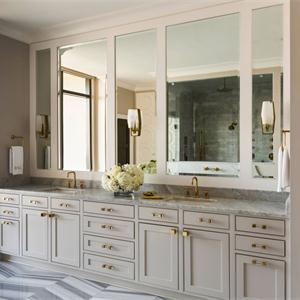 三居室歐式風格廚房裝修效果圖