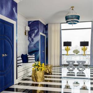 豪华欧式风三居客厅装修效果图