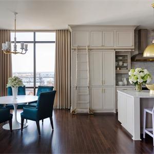 新古典風格別墅廚房裝修效果圖