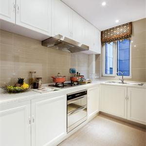 現代簡約風格廚房櫥柜效果圖