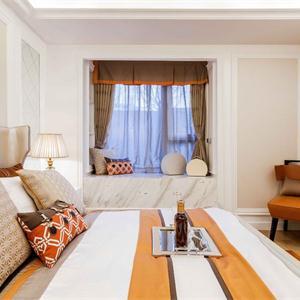复式北欧风格卧室装修效果图
