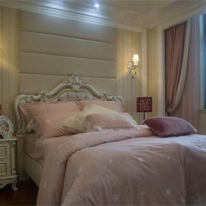三居室歐式風格臥室裝修效果圖