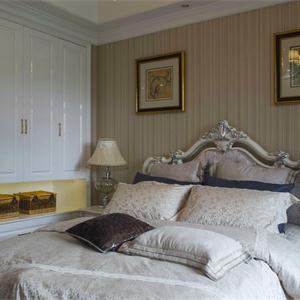 新古典風格三居臥室裝修效果圖