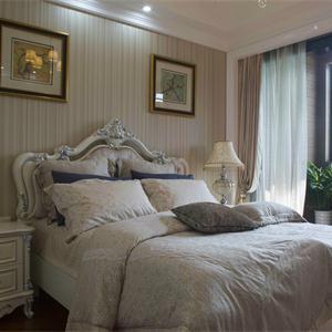136㎡歐式風格三居臥室裝修效果圖