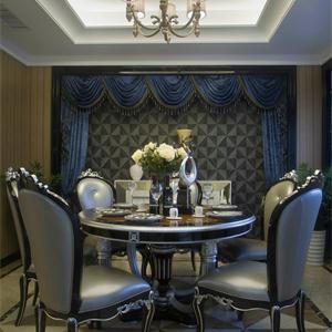 新古典風格別墅餐廳裝修效果圖