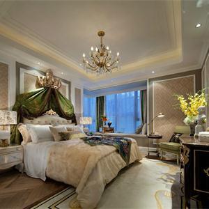 建屋吴郡半岛 欧式古典风格卧室装修效果图