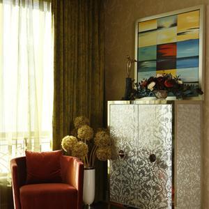 现代极简风格客厅装修效果图