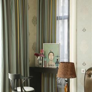 环秀湖花园三期三居室北欧风格卧室装修效果图