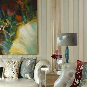 格林悦城2期简约风格两居室客厅装修效果图