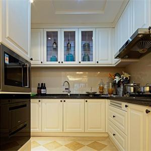 蘇州唐寧府三居室歐式風格廚房裝修效果圖