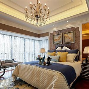 弘阳·甪源136㎡欧式风格三居客厅装修效果图