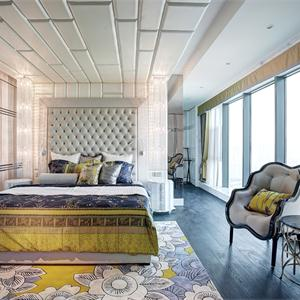 欧式古典风格卧室装修效果图