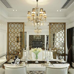 大户型奢华欧式风格餐厅装修效果图