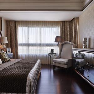 海亮长桥府混搭风格四居卧室装修效果图