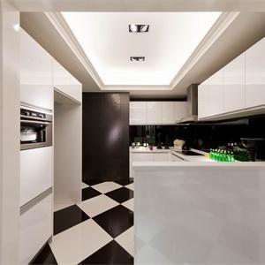 現代混搭風三居廚房裝修效果圖