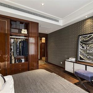 美式新古典风格卧室装修效果图