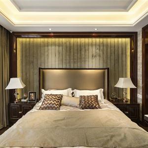 荷塘月苑欧式新古典风格卧室装修效果图