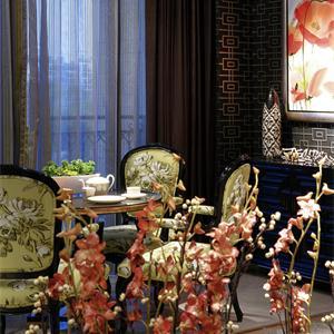 首开如院新古典风格别墅餐厅装修效果图