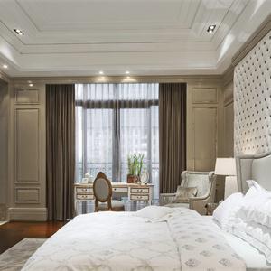 万科遇见山新古典风格二居卧室装修效果图