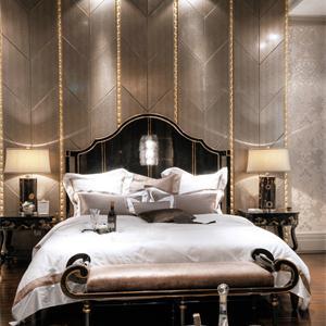 欧式新古典风格卧室装修效果图