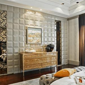 混搭潮流新古典歐式風格臥室裝修效果圖