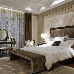 140㎡新古典卧室装修效果图