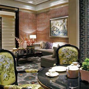 大户型新古典风格客厅装修效果图