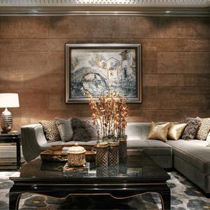 精美新古典客厅背景墙设计