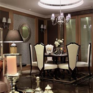 新古典风格别墅餐厅装修效果图