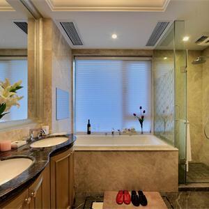 新古典風格樣板房衛生間裝修效果圖