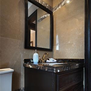 新古典風格三居衛生間裝修效果圖