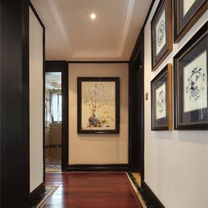 140平新古典風格走廊裝修效果圖